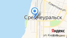 Птицефабрика Среднеуральская на карте