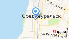Дума городского округа Среднеуральск на карте