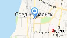 Магазин цветов на ул. Ленина на карте