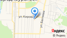 Ганина Яма на карте