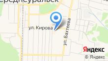 Туристическое агентство на карте