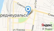Уральский транспортный банк, ПАО на карте