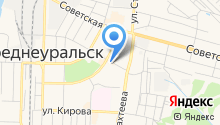 Уральский банк реконструкции и развития, ПАО на карте