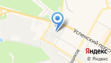 Экипировочный центр на карте