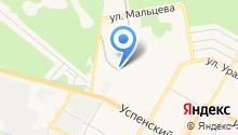 Автостоянка на ул. Машиностроителей на карте