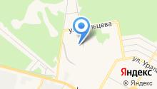 ПАРИТЕТ-М на карте