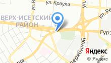 Огни Баку на карте