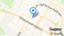 Верхнепышминское отделение связи №6 на карте