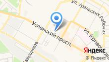 Радомир на карте