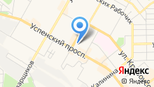 Косулинская пивоварня на карте