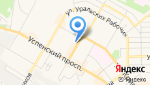 Центр права на карте