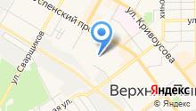 Верхнепышминское почтовое отделение №3 на карте