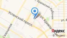 Верхнепышминская специальная (коррекционная) школа-интернат им. С.А. Мартиросяна на карте