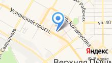 Уральский родительский комитет на карте