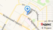 Почтовое отделение №624090 на карте