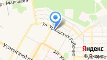 Центральная городская библиотека им. В.В. Волоскова на карте