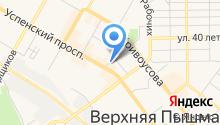 Страховое агентство на карте
