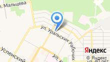 Центр творчества молодежи на карте