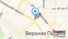 Банкомат, ВУЗ-банк на карте
