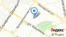 Ясный Дом, ТСЖ на карте