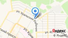 Похоронная служба на карте