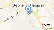 Люки-Урал на карте