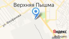 Уралэнергоцветмет на карте