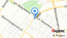УК КОМФОРТ на карте