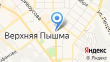 Автостоянка на ул. Кривоусова на карте