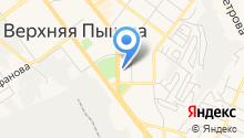 Отдел Военного комиссариата Свердловской области по г. Верхняя Пышма на карте