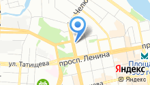 Отдел гражданской защиты населения Верх-Исетского района на карте