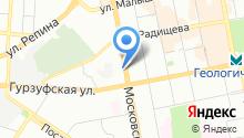 Asap на карте