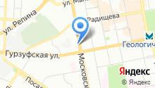 Арт Деко на карте