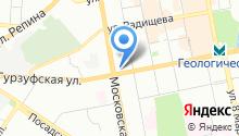 АМС-техника на карте