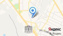 АЗС на ул. Александра Козицына на карте