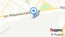 Уральский завод высоковольтного оборудования на карте