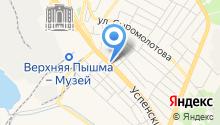 Бакинский дворик на карте