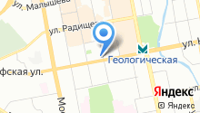 *тесла* на карте