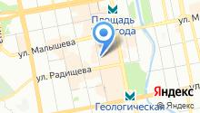 Aster на карте