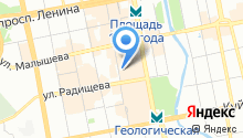 Angi на карте