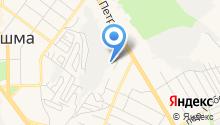 Отдел технического надзора и регистрации автомототранспортных средств ГИБДД на карте