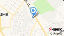 Клипсо Урал на карте