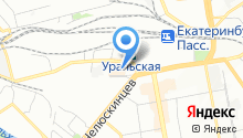 Accent-Foto на карте