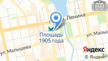 Банкомат, КБ Кольцо Урала на карте