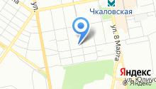Верный на карте