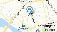 Детская городская клиническая больница №9 на карте