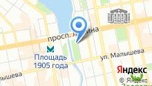 Музей природы на карте