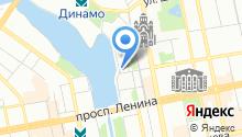 Корица на карте