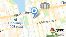 Avega-tour на карте