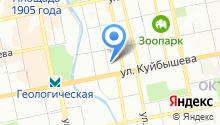 Дипломат на карте